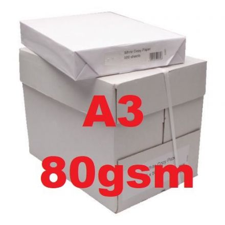 A4 Printer & Copier Paper - White 80g - 5 x 500 sheets
